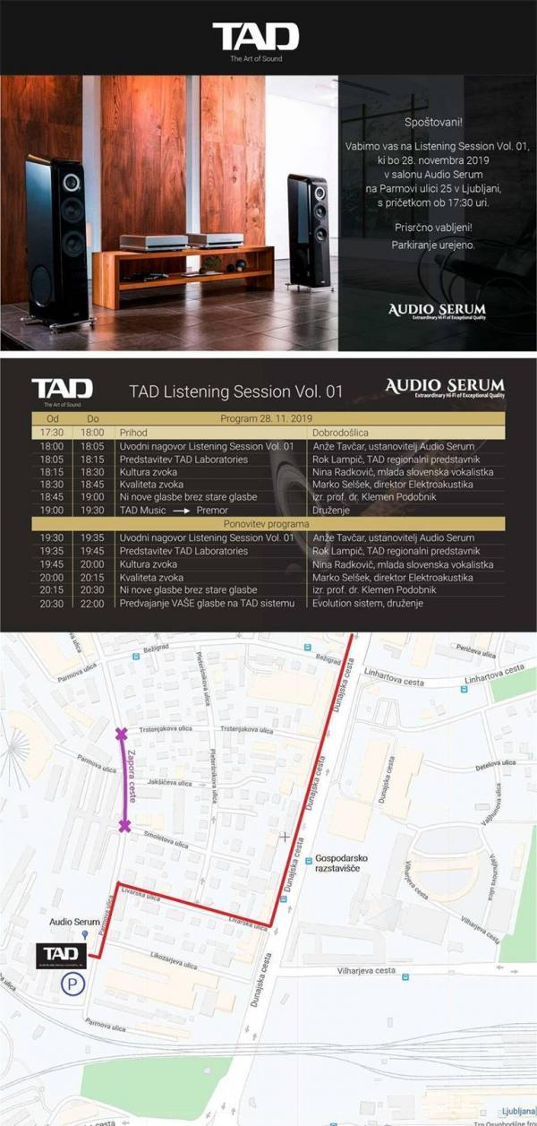 TAD Listening Session Vol 01